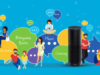 Amazon's Alexa, Internet of things picking up in India.